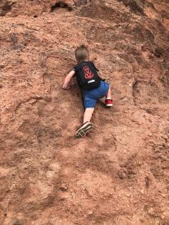 Camden Donnelly Climbing